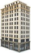 "Walthers - Ashmore Hotel - Kit (Plastic) -- 8-5/8 x 4-7/16 x x 13-7/8"" 21.9 x 11.2 x 35.3cm - HO"