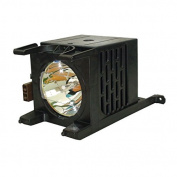 AuraBeam Toshiba Y196-LMP 72514012A TV Replacement Lamp with Housing