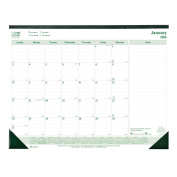 Brownline 2016 Ecologix Monthly Desk Pad, 60cm x 43cm