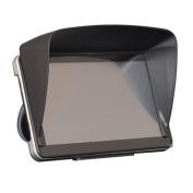 AGPtek® Sun Shade Shield Glare Visor For 18cm Car Vehicle GPS Navigator Monitor