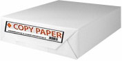 Staples Copy Fax Printer Paper, 22cm x 11 Letter Size, 9.1kg., 92 US / 104 Euro Bright White, Acid Free, Ream, 500 Total Sheets