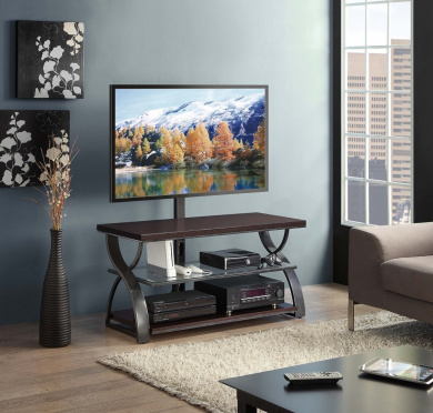 Whalen Furniture Calico 3-in-1 TV Stand, 54-Inch