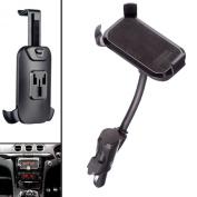 Ultimateaddons® Car Vehicle Dual USB Charger Cigarette Lighter Socket Mount And Univeral One Holder For Mobile Phones