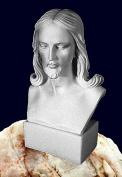 Lord Saviour White Jesus Figurine Statue