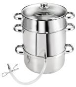 KOPF steam juicer Vital (diameter 25.5 cm, suitable for induction) stainless steel