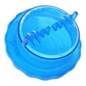 Plastic Garlic Twist Crusher Ginger Mincer Kitchen Gadget Helper Blue