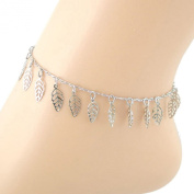 Tonsee Girls' Hollow Leaves Ankle Bracelet Foot Jewellery