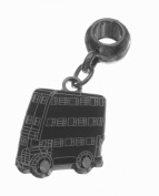 Official Harry Potter Silver Plated Knight Bus Slider Bracelet Charm