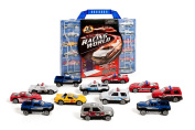 Iq Toys Set Of 12 Die Cast Cars With Caring Case Fits Up To 24 Matchbox Size Cars