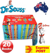 The Wonderful World of Dr. Seuss Collection Classic Story 20 Books Gift Box Set