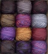 Valdani 3-Strand Cotton Embroidery Floss 12-Ball Halloween Collection