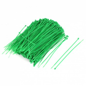 1000pcs 3mm x 150mm Nylon Self-Locking Electric Cable Zip Ties Green