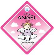 Baby on Board Car Sign, Grandchild on Board, baby Car Sign, Little Angel On Board Car Sign, Little Angel On Board, baby on board, Baby On Board Car Sign, Angel on board, Baby Sign, Baby on Board, Baby Car Sign, Bumper Sticker, Little Angel, Daddy's Angel