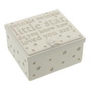 Bambino by Juliana Resin Trinket Box - Twinkle Twinkle