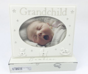 Grandchild Photo Frame For the Grandparents New Baby Birth Gift Girl Boy