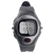 R022M Waterproof Sports Pulse Rate Monitor Calorie Counter Digital Wrist Watch with Alarm /Calendar /Stopwatch