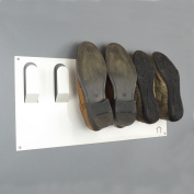 Stylish Wall Mounted Shoe Storage Rack by The Metal House