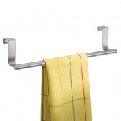 Over The Cabinet Door 35.5cm Towel Bar Brushed Stainless Steel