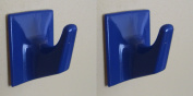 Dark Blue Self Adhesive Hooks - MS57-Square Shaped-Ideal For Tube or Slat Type Blind/Fly Curtain/Strip Blind
