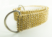 Gold Mesh Gold Clear Chaton Curtain Tieback rope ribbon Chaton Crystal effect BLING Made In UK By VARSANY