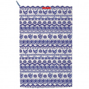 Emma Bridgewater Blue Hen Border Tea Towel