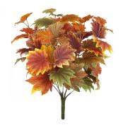 FloristryWarehouse Autumn leaves Maple bush 42cm artificial silk leaf Fall decoration