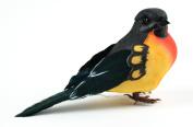 Mushroom Bird W/Wire 10cm 1/Pkg-Baltimore Oriole