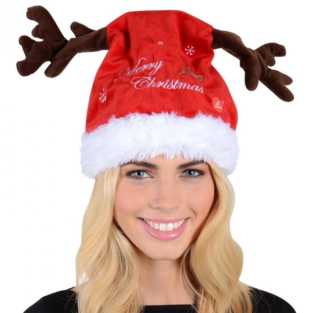 a2f638faf4431 Adult Animated Musical Moving Jingle Bells Christmas Reindeer ...