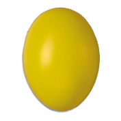 50 Yellow Hollow One Piece 60mm Plastic Easter Eggs
