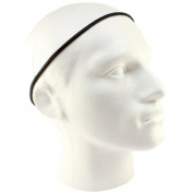 Mens Pack Of 3 Thin Elastic Football Hair Headbands