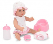 Melissa & Doug Annie - 12 Drink and Wet Doll, Child, Play, Newborn, Game, Toy