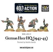 War Gaming - German Heer HQ (1943-45) - Warlord Games