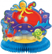 Amscan Deep Sea Fun Honeycomb Centrepiece
