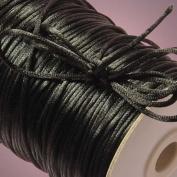 Beading Cord Beading Supplies Satin Rattail Cord Trim Shamballa Macrame Beading Nylon kumihimo String 2MM