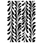 Joggles Stencil 23cm x 30cm -Climbing Feathers