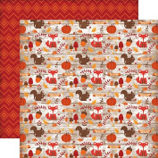 Echo Park The Story of Fall Icons Scrapbook Paper