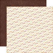 Echo Park The Story of Fall Fall Arrows Scrapbook Paper