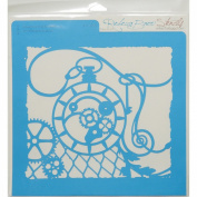 Rebecca Baer Stencil 30cm x 30cm -Pocket Watch
