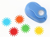 CADY Crafts Punch 3.8cm Paper Punches Craft Punches Sun