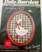 Country goose, a country Christmas cross stitch kit