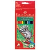 Frontier Natural Products 225270 Triangular Coloured Ecopencils - 12 Count
