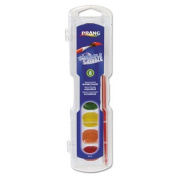 Washable Watercolours, 8 Assorted Colours, Sold as 1 Each