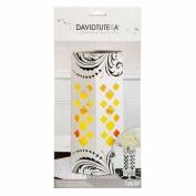 David Tutera Decorative Pop-up Centrepiece Die Cut Vase White 30cm . Tall