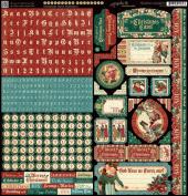 Graphic 45 - A Christmas Carol Stickers - Item 4501199
