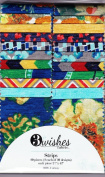 Monticello Floral 6.4cm Strips by 3 Wishes Fabric - 20 Strips - 100% Cotton Quilt Fabric