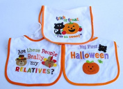 Baby Essentials 3 Halloween Feeder Bibs Trick or Treat Im so Sweet