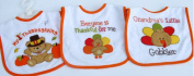 Baby Essentials 3 Happy Thanksgiving Feeder Bibs