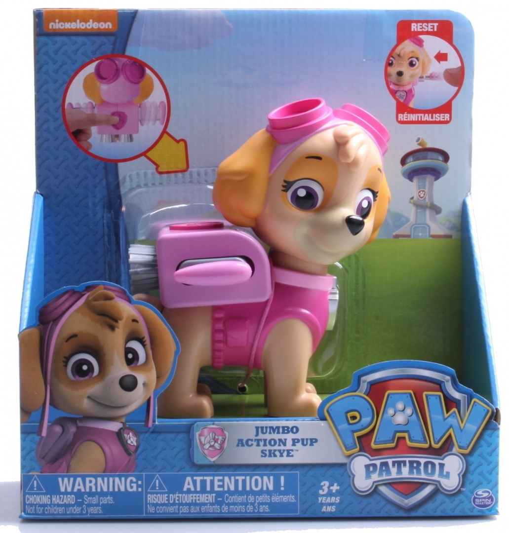 47ecaf25f61 Paw Patrol Jumbo Action Pup Toy
