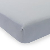 Lambs & Ivy Signature Mix & Match Slate Blue Fitted Sheet