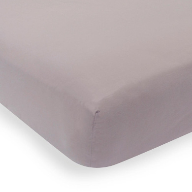 Lambs & Ivy Signature Mix & Match Aubergine Fitted Sheet